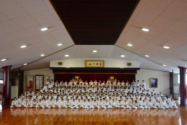 2016年度中学・高校少林寺拳法連盟本部合宿